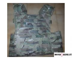 plate carrier cordura multicam