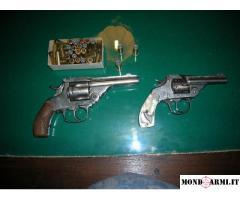 Vendo n. 2 revolver calibro 38 e 22