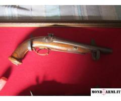 pistola due canne a cani esterni