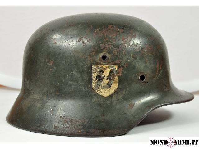 casque allemand M40 SS Q64 originale