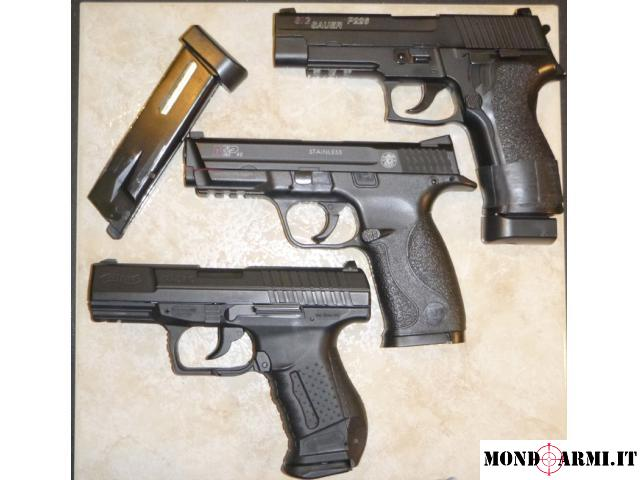 Sig P226+Walther P99+S&W m&p