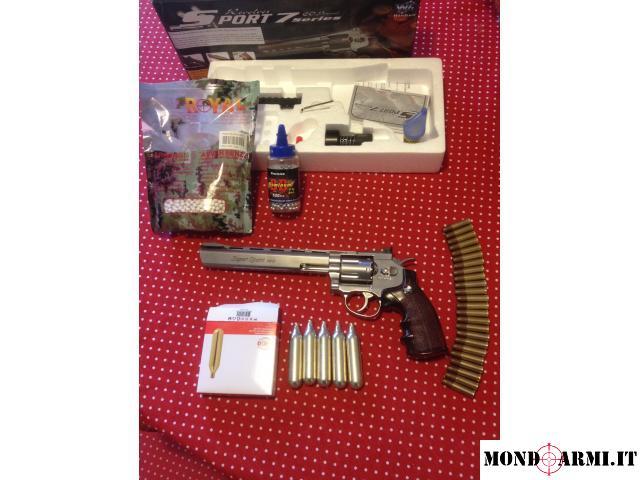 pistola revolver co2