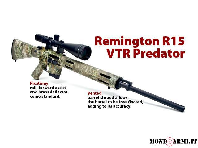 REMINGTON  R15 VTR PREDATOR,