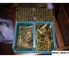 Bossoli cal.223 Remington gia Puliti pronti per processo di ricarica
