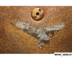 2 x elmetto M38 Fallschirmjager origine