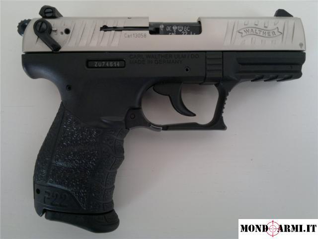 Pistola semiauto cal.22 lr Walther P22Q 3.4