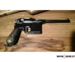 Pistola Mauser Hummer cal 7.63