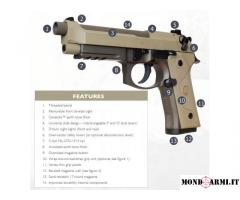BERETTA M9A3 CANNA FILETTATA,