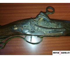 Archibugio avancarica con baionetta