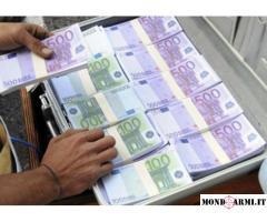 finanziamento urgente e di investimento