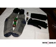Calzini e guanti RISCALDABILI
