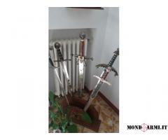5 spade repliche da collezione base in legno