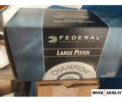 FEDERAL LARGE PISTOL CHAMPION - 150 - BOSSOLI 45 ACP