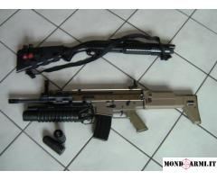 SOFTAIR SCAR-L con ACCESSORI VARI