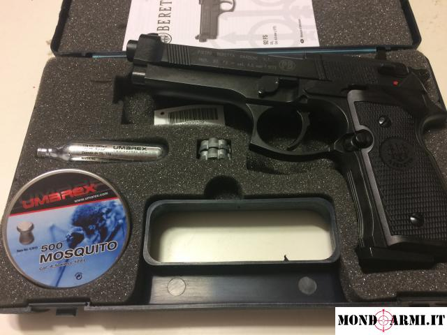 Pistola Beretta 92fs Co2 Calibro 4 5 Ottimizzata 7 5 Joule Libera Vendita Aria Compressa Campania Salerno Mondoarmi It Armi Usate E Nuove In Vendita Annunci Armi Gratuiti