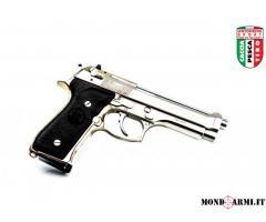 BERETTA MOD. 98 FS STAINLESS-GOLD CAL. 9X21 (ID684)