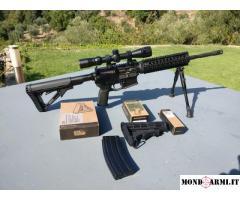 ar15 M4 Nuova Jager 223 + accessori magpull