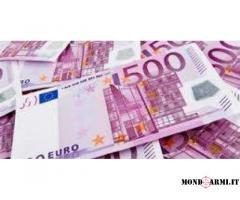 Offerta di prestito tra individui seri e onesti a un tasso del 2%