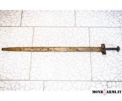 Spada Takouba originale (Nord Africa, probabilmente metà del XX secolo)