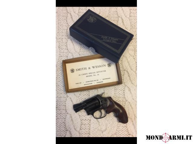 Smith&Wesson mod. 36 calibro 38 SP