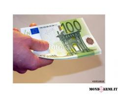 offerta di prestito tra individuo serio