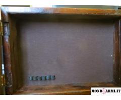 scatola in legno porta pistola