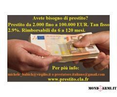 Stai cercando un prestito affidabile e sicuro tra privato?