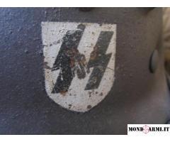 Elmetto Waffen SS M35 Originale