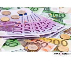 Offerta de prestito  tra individuo serio e veloce in 24 ore