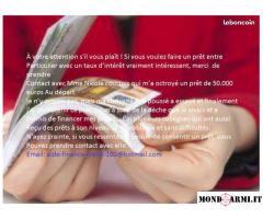 Offerta di prestiti in denaro per i tuoi progetti o altri acquisti