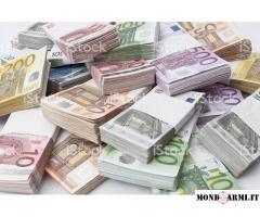 offerta prestito di denaro tra individuo veloce e serio.