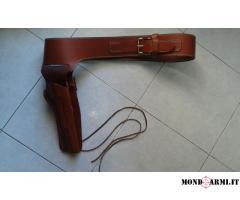 cinturone per revolver 45 long colt