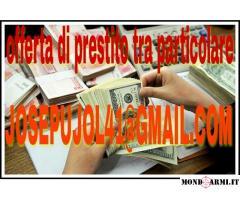 Oferta di prestamo di dinero tra particolare in 48 ore (e-mail: JOSEPUJOL41@GMAIL.COM)