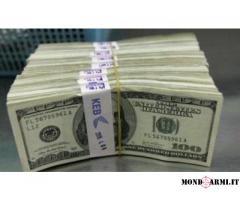 Offerta di prestito Per particelle sierose in 72 ore
