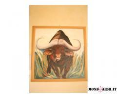 dipinto baffalo charge
