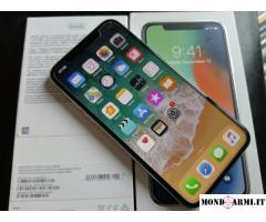 Apple iPhone X 64GB per 400 EUR e Apple iPhone X  256GB per 450 EUR
