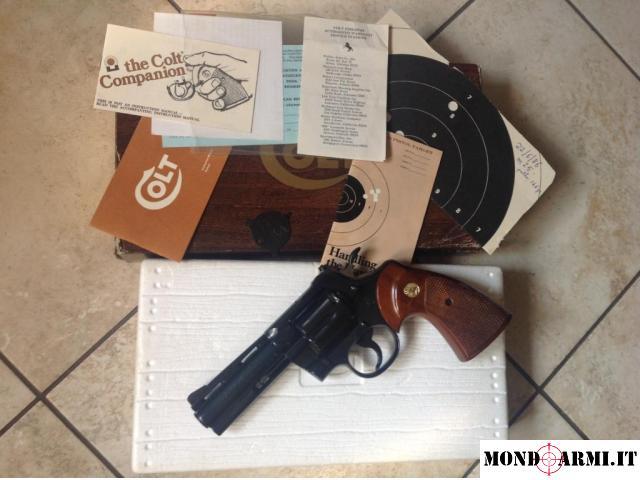Colt PYTHON .357 Magnum  |  9x31mmR  | .353 Casull