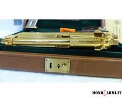 PISTOLA SEMIAUTOMATICA NUOVA BERETTA 98 FS GOLD DELUXE DE LUXE LIMITED EDITION