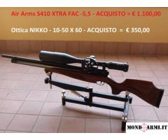 Air Arms S410 XTRA FAC Cal. 5,5