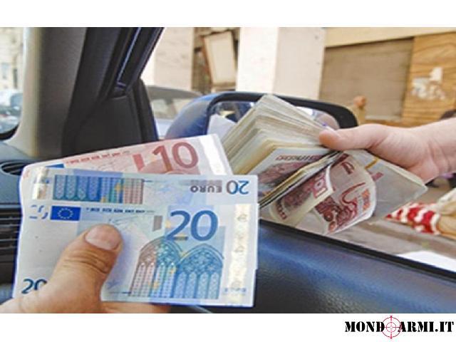 Prestito di denaro serio