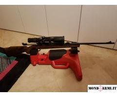Sabatti Rover 870 syn legno 6.5x55mm doppia CALCIATURA (thumbhole) praticamente nuova
