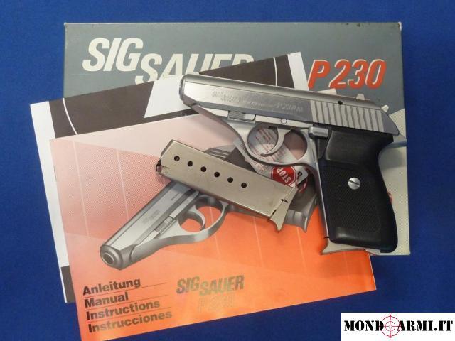 SIG-Sauer mod. P 230 cal. 9 Corto