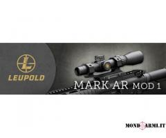 Leupold Mark AR 1,5-4x20 con attacco Burris