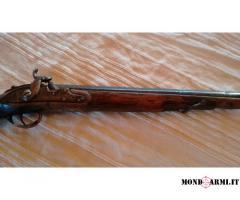 FUCILE MONOCANNA CANE ESTERNO ARMA ANTICA ANTECEDENTE AL 1890